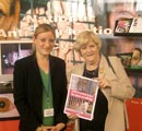 Rt Hon Ann Widdecombe MP at the ADI and NAVS stand