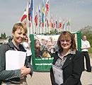 MEP Dr. Caroline Lucas, Jan Creamer